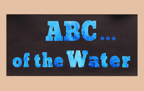 ABC of the water pic